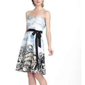 ANTHRO | Strapless Dress